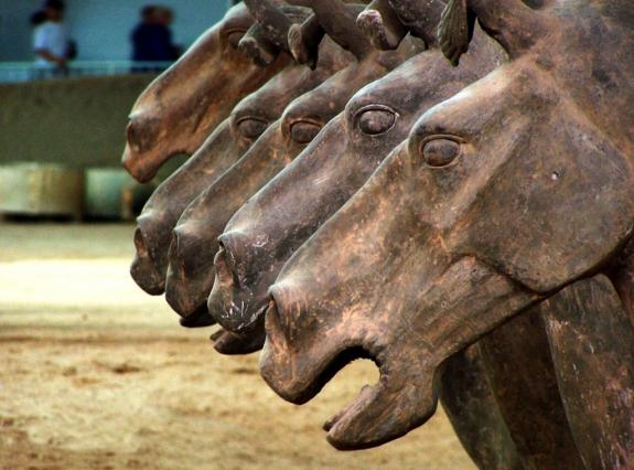 caballos_terracota_xian